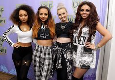 Little Mix at the Isle of Wight Festival.