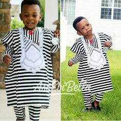 Top Trending and Exclusive Agbada Styles For Your Kids 2018 - Earth Lex Baby African Clothes, African Dresses For Kids, African Children, Latest African Fashion Dresses, African Print Fashion, Africa Fashion, Men's Fashion, Fashion Trends, Fashion Tips