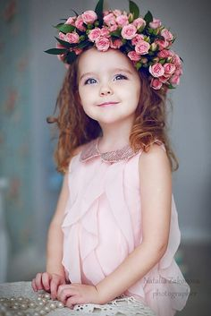 Floral Halo Angel Cute Babies Photography, Girl Photography, Children Photography, Cute Little Baby, Cute Baby Girl, Beautiful Children, Most Beautiful Faces, Baby Pictures, Baby Photos
