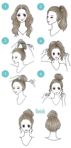 Hairstyle for women with bangs best hairstyle for male pattern baldness,animal crossing city folk hairstyle guide with pictures prom hairstyles peinados graduacion,fringe hairstyles waves best hair updos Easy Everyday Hairstyles, Trendy Hairstyles, Braided Hairstyles, Simple Hairdos, Hairstyle Short, Style Hairstyle, Natural Hairstyles, Hairstyle Ideas, Hair Designs