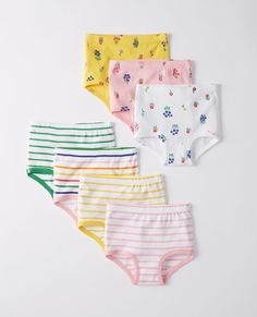 Classic Unders 7 Pack In Organic Cotton in Girl's Multi Pack - main