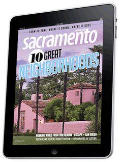 10 Great Neighborhoods - Sacramento Magazine - September 2013 - Sacramento, California