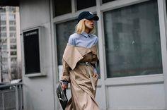 WEBSTA @ voguemexico - Street Style de #NYFW (día 4) en Vogue.mx Link en bio Fotografía: @aldo_decaniz