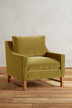 "Velvet Dorada Chair #anthropologie in color: ""duck egg"" maybe"