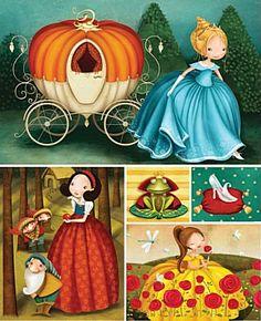 valeria docampo fairy tales puzzle art