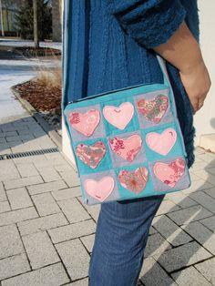 Handtasche mit Herzchen