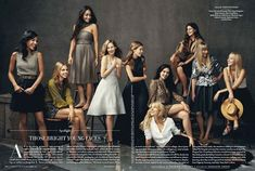 Those Bright Young Faces | Vanity Fair Photo by Norman Jean Roy