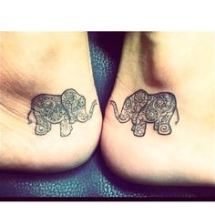 Best Sister Tattoos Sister Tattoos: 30 Sister Tattoo Ideas For You and Your Sis! - Part Tattoos: 30 Sister Tattoo Ideas For You and Your Sis! - Part 25 Unique Sister Tattoos, Sister Tattoo Designs, Matching Sister Tattoos, Best Friend Tattoos, Tattoos For Daughters, Matching Friendship Tattoos, 13 Tattoos, Skull Tattoos, Cute Tattoos