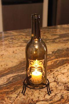 Little Owl   Wine Bottle Lantern Kit