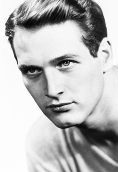 Portrait of Paul Newman, c. 1950s.