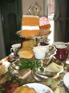 There's something about Afternoon Tea ....