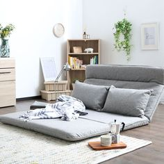 Futon Couch - A futon does fold out to a larger sleeping space