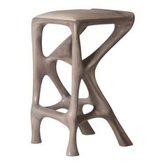 Amorph Chimera Bar Stool, Stained Gray Oak, Counter Height For Sale at Oak Bar Stools, Counter Height Bar Stools, Swivel Bar Stools, Upholstered Bar Stools, Grey Oak, Gray, Leather Stool, Modern Bar Stools, Scandinavian Modern