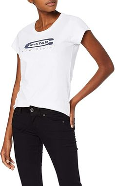 T- Shirt  Bekleidung, Damen, Tops, T-Shirts & Blusen, T-Shirts G Star Raw, Star Wars, Shirt Bluse, Slim, Stars, Fashion, Spring Fashion, Spring Summer, Women