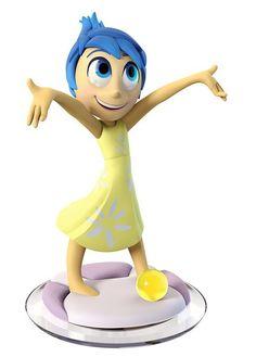 Joy - List of Disney Infinity Characters, Toy Figures Disney Pixar, Disney Toys, Disney Movies, Disney Stuff, Disney Infinity Characters, Disney Characters, Figuras Disney Infinity, Inside Out Characters, Infinity Art