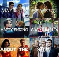 Percy Jackson, The Mortal Instruments, Divergent, The Fault In Our Stars, The Hunger Games, Harry Potter