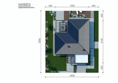 Sytuacja CPT HomeKONCEPT-26 CE Roof Trusses, Modern House Design, Building A House, House Plans, Villa, New Homes, Floor Plans, Exterior, How To Plan