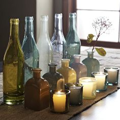west elm recycled glass vases. discontinued.