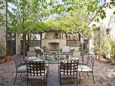 Stylish and Functional Outdoor Dining Rooms-HGTV