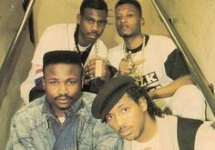 UTFO: The group consists of the Doctor Ice (Fred Reeves), MixMaster Ice (Maurice Bailey), the Educated Rapper (Jeffrey Campbell) (also known as EMD), and Kangol Kid (Shiller Shaun Fequiere). Love And Hip, Hip Hop And R&b, Hip Hop Classics, Follow The Leader, Rap Songs, Hip Hip, Greatest Songs, Soul Music, My Favorite Music