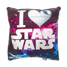 I Heart Star Wars Pillow