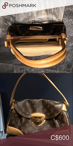 Authentic Louis Vuitton Purse Like new. Only used twice. Purchased at the Louis Vuitton store in Las Vegas for 1200$ US Will sell for 600$ Canadian. Louis Vuitton Bags