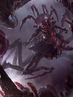 Demonic Queen Advanced by Cryptcrawler.deviantart.com on @deviantART