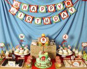 Farm Barn Birthday Party Package Personalized FULL Collection Set - PRINTABLE DIY - BX9y. $29.00, via Etsy.