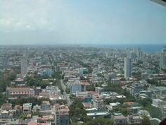 Arial view of Havana from city's tallest restaurant Havana, San Francisco Skyline, Cuba, Grande, Paris Skyline, Restaurant, Travel, Viajes, Diner Restaurant