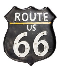 Look at this 'Route 66' Sign LED Wall Décor on #zulily today!