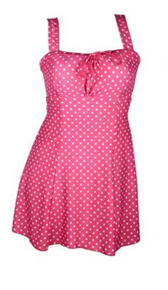 89a0c40483d0 GZYY Women s One Piece Swimsuit Dots Printed Beachwear Swimdress