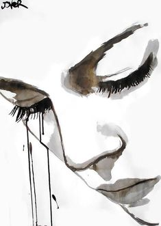 # illustration by Loui Jover Illusion Kunst, Art Abstrait, Ink Art, Love Art, Painting Inspiration, Painting & Drawing, Watercolor Art, Amazing Art, Art Drawings