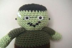 Frankenstein ... by Amy Gaines | Crocheting Pattern - Looking for your next project? You're going to love Frankenstein Amigurumi Halloween Pattern by designer Amy Gaines. - via @Craftsy