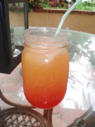 Red Solo Cup Lights | Southern rum punch traditionally served in a mason jar. Perfect for ...