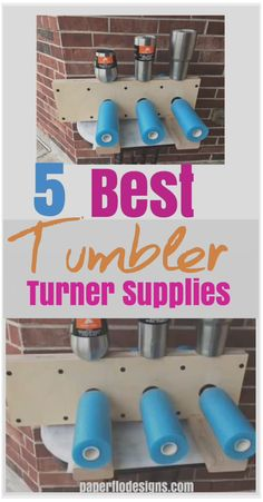 5 Best Tumbler Turner Supplies - Craft tips and tricks - Goldepoxy Diy Tumblers, Custom Tumblers, Glitter Tumblers, Personalized Tumblers, Diy Craft Projects, Diy Crafts, Hydrodipping Diy, Sharpie Crafts, Food Crafts
