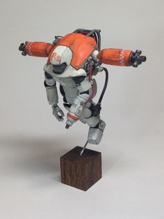 Luna Pawn high mobility test type. WAVE Ma.K. 1/20 scale Luna Pawn remodeled. By katoya.  #Ma_K #Maschinen_Krieger