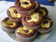 Meggyes- túrós muffin -- Túrós –szilvás muffin - nagyikonyhaja.lapunk.hu