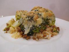 Hétfő: Rakott brokkoli A 17, Risotto, Ethnic Recipes, Food, Essen, Meals, Yemek, Eten