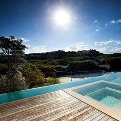 Spring is SO close we can feel it!  #BassRoadProject #Portsea #ThatView by c.o.s_design Creative backyard pool designs.
