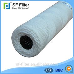 High precision water filter pitcher absorbent cotton SFW wound filter