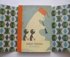 I just bought this postcard book by Japanese Illustrator Junzo Terada, it's great!
