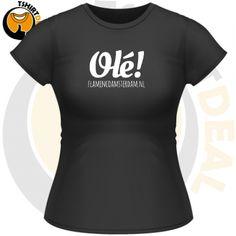 Olé FlamencoAmsterdam.nl #flamenco #t-shirt #Olé!