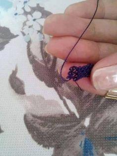 İğne Oyasında Küpe Çiçeği Yapılışı Resimli Anlatım | Bilgievim.net Kadına Dair Herşey Washer Necklace, Pendant Necklace, Lace Making, Gallery, Crochet, How To Make, Jewelry, Lace, Jewlery