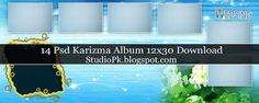 14 Karizma Album 12x30 Psd Photo Frame Background Download