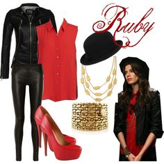 once upon a time ruby outfits -