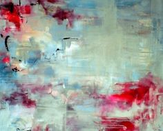 Symbols 1 - abstract original oil painting on canvas, LARGE
