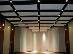 Sound-proofing ceiling panels