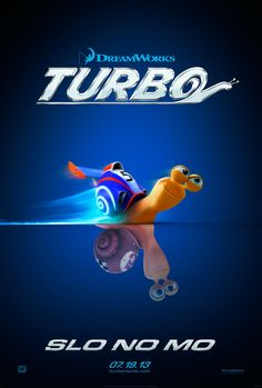This movie looks absolutely... mediocre. But I don't care, they used a song by Cake in the first trailer. I love Cake. Therefore I love Turbo.