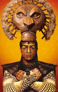 The Lion King, el musical, personajes, Mufasa, Broadway, New York.