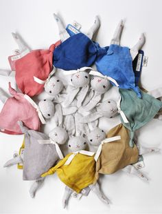 PDC + FOLK FIBERS Cuddling Rabbit